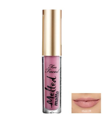 Son kem lì Too Faced Melted Matte Long Ware Lipstick Queen B