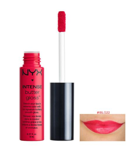 Son bóng Nyx Intense Butter Gloss, Cherry Custard IBLG22