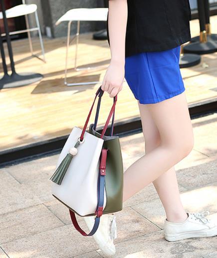 Túi da dây rút phong cách Hàn Quốc