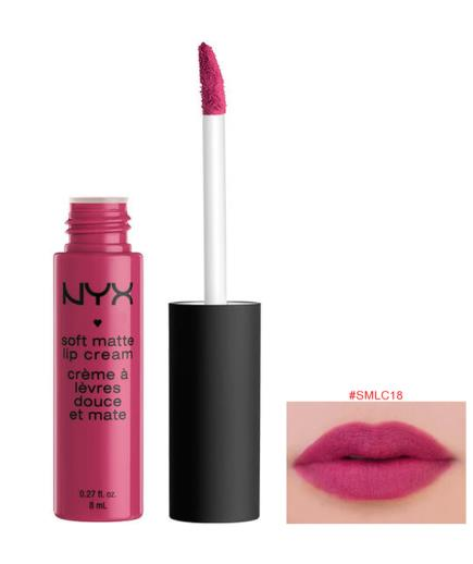 Son kem NYX Soft Matte Lip Cream, Prague SMLC18