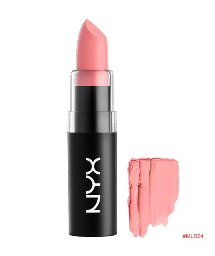 Son lì NYX Matte Lipstick, Pale Pink MLS04
