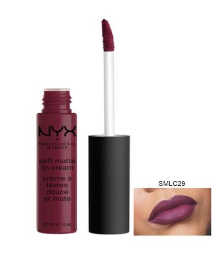 Son kem NYX Soft Matte Lip Cream, Vancouver SMLC29