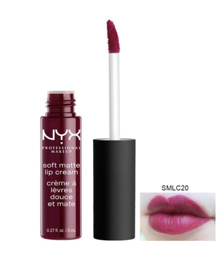 Son kem NYX Soft Matte Lip Cream, Copenhagen SMLC20