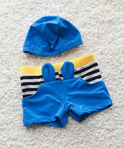 Set đồ bơi bé trai họa tiết thỏ