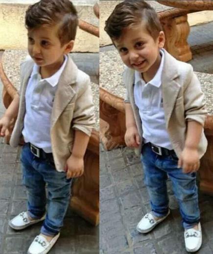 Set áo vest và quần jean dự tiệc bé trai Kids Tales