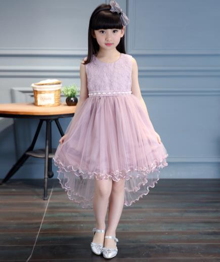 Đầm công chúa bé gái phối cườm