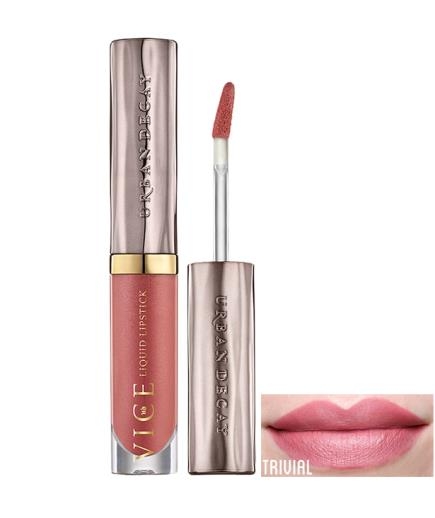 Son kem lì Urban Decay Vice Liquid Lipstick Long Lasting Trivial