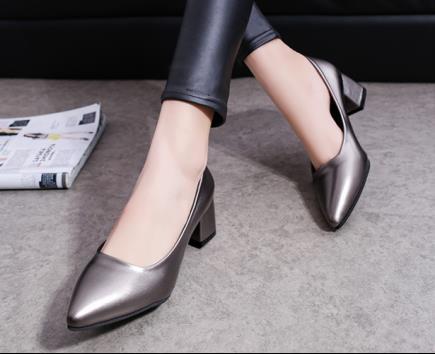 Giày công sở để vuông 5cm