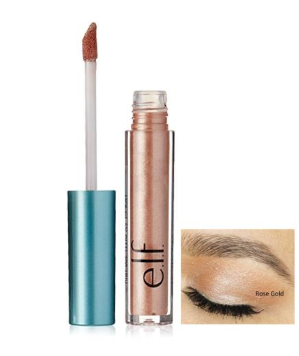 Nhũ mắt ánh kim Elf Aqua Beauty Molten Liquid Eyeshadow Rose Gold