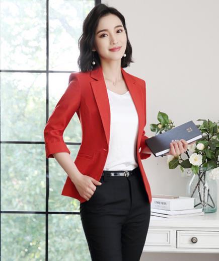 Áo khoác vest đơn sắc tay lỡ