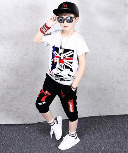 Bộ đồ bé trai hiphop NM
