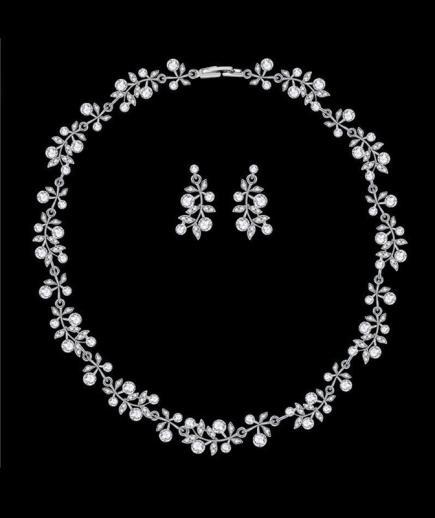 Bộ trang sức kim cương CD #05