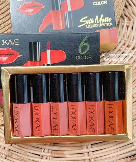 Set 6 son kem Lookave mini