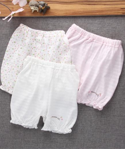 Combo 3 quần đùi bé gái dáng bầu