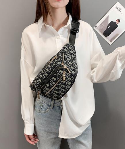 Túi đeo hông thổ cẩm nhiều ngăn