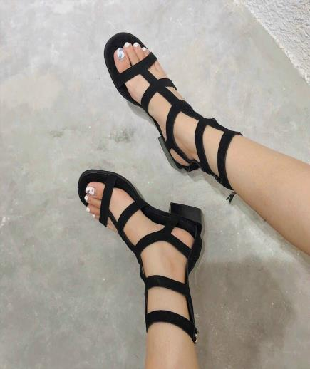 Giày sandal chiến binh cổ cao 3cm