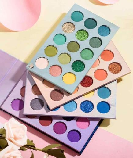 Bảng màu mắt Beauty Glazed Color Board