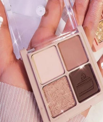 Bảng Phấn Mắt A Small But Solid Happiness Eyeshadow Plate