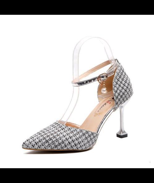 Giày cao gót bít mũi 7cm
