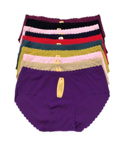Combo 10 quần lót nữ su gân 12132