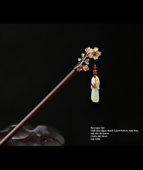 Trâm cài tóc hoa ngọc lan